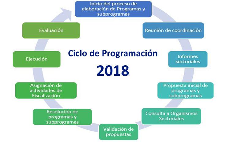 Inicio Ciclo de Programación 2018