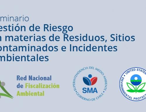 Seminario: Gestión del Riesgo en materias de residuos, sitios contaminados e incidentes ambientales