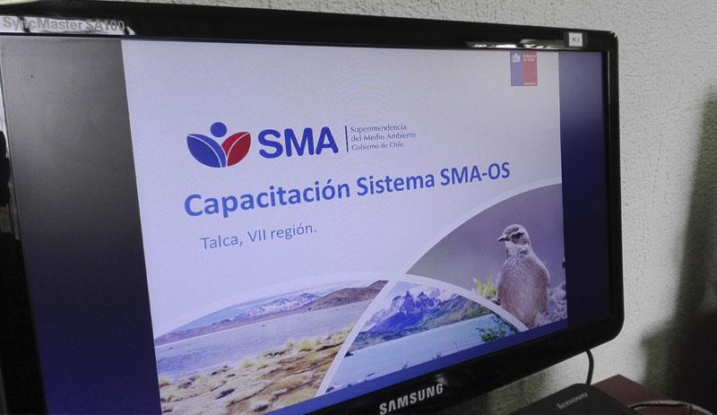 Capacitaciones regionales en el Sistema SMA-OS