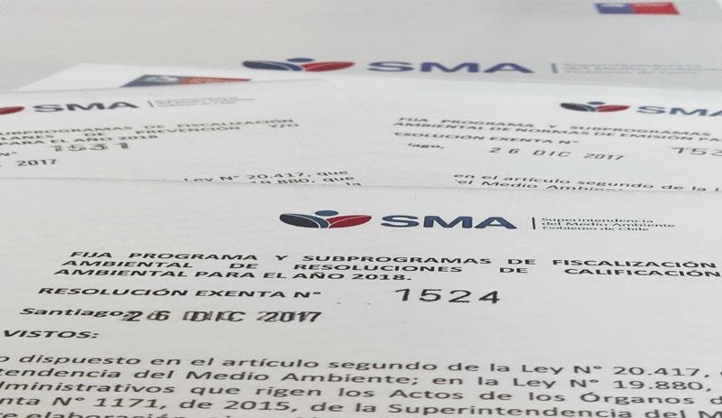 SMA dicta programas y subprogramas 2018