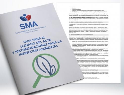 SMA dicta guía para el llenado de acta y recomendaciones para la inspección ambiental