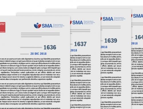SMA dicta Resoluciones de programa y subprogramas 2019