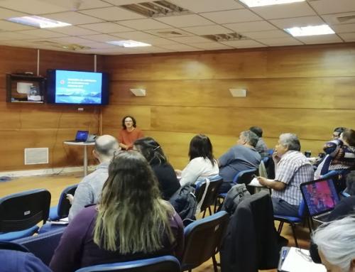 SMA dicta taller de herramientas geomáticas a funcionarios de SERNAPESCA